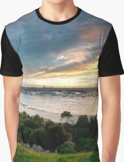 Sandringham yacht club sunset Graphic T-Shirt