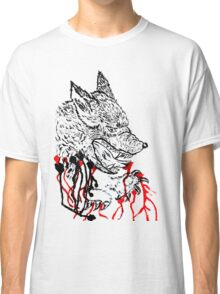 Angry Wolf Sketch Classic T-Shirt