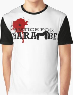 HARAMBE - Justice For Harambe Graphic T-Shirt