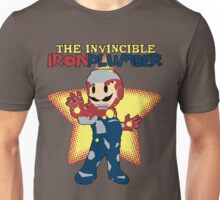 The Invincible Iron Plumber Unisex T-Shirt