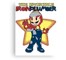 The Invincible Iron Plumber Canvas Print