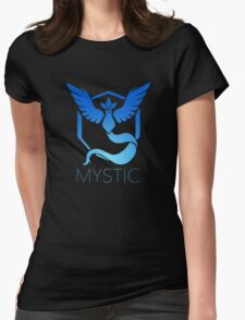 Team Mystic (Black) Womens Fitted T-Shirt