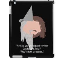 Dan and Phil Quote - Gandalf and Jesus iPad Case/Skin