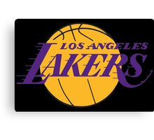 Los Angeles Lakers 01 Canvas Print