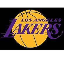 Los Angeles Lakers 01 Photographic Print