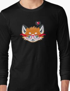 Nerdy Knitwear FOX - head only Long Sleeve T-Shirt