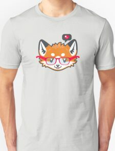 Nerdy Knitwear FOX - head only Unisex T-Shirt