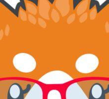 Nerdy Knitwear FOX - head only Sticker
