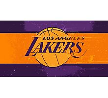 Los Angeles Lakers 04 Photographic Print