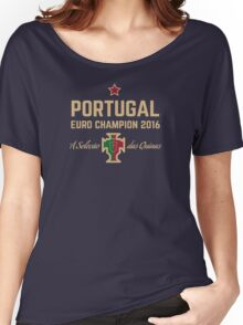 Portugal Euro 2016 Champions T-Shirts etc. ID-1 Women's Relaxed Fit T-Shirt