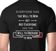 The Will to Win BJJ Shirt Black Unisex T-Shirt