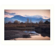 Tasman - New Zealand Art Print