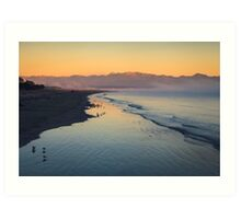 Tahunanui Beach - Nelson - NZ Art Print