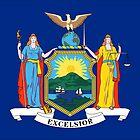 Flag of New York by csmarshall