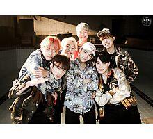 BTS/Bangtan Sonyeondan - Fire Group Photo Photographic Print