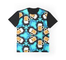 More beer please, mas cerveza por favor, drink, drinking, alcohol, party, festival, pattern design, sample, ornaments, Graphic T-Shirt
