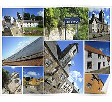The Royal Burgh of Culross Fife Poster