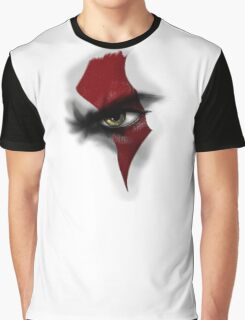 -GEEK- God Of War Eye Graphic T-Shirt