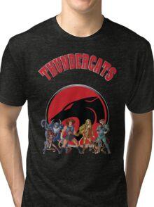 Cartoon Design T-shirt-02 Tri-blend T-Shirt