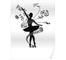 Music, dance and freedom Poster