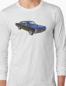 Black 1967 Pontiac GTO Muscle Car Long Sleeve T-Shirt