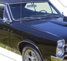 Black 1967 Pontiac GTO Muscle Car Sticker