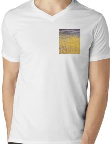Mellow Yellow - 0019x Mens V-Neck T-Shirt