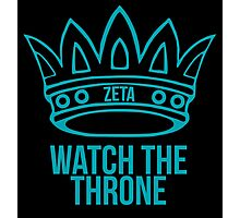 zeta tau alpha watch the throne Photographic Print