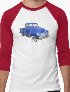 1947 Chevrolet Thriftmaster Antique Pickup Men's Baseball ¾ T-Shirt