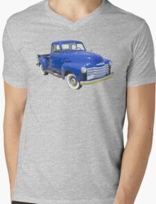 1947 Chevrolet Thriftmaster Antique Pickup Mens V-Neck T-Shirt