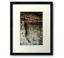 Kinver Rock Framed Print