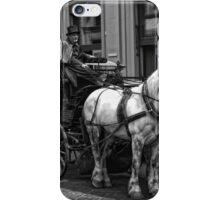 Horse Drawn Carriage iPhone Case/Skin