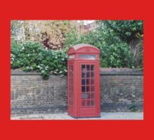 London Telephone Box Kids Clothes
