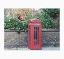 London Telephone Box Kids Clothes
