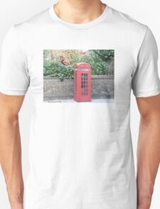 London Telephone Box Unisex T-Shirt