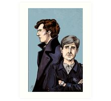 Consulting Detectives Art Print