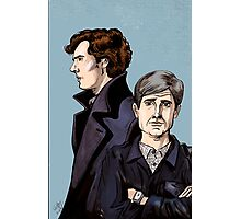 Consulting Detectives Photographic Print