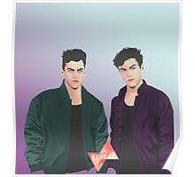 #32A Dolan twins Poster