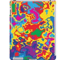 Very coloured map, spot of paint.  iPad Case/Skin