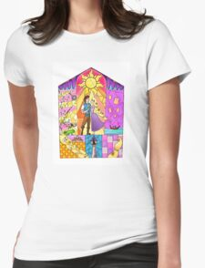 Kingdom Dance Womens Fitted T-Shirt