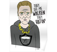 Haters gone Hate Poster
