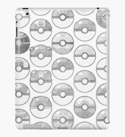 Pokemon Pokeball Gray iPad Case/Skin