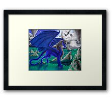 Virulianna LuxNadra Dragoness Framed Print