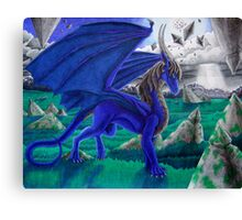 Virulianna LuxNadra Dragoness Canvas Print