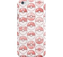 Pokemon Pokeball Red iPhone Case/Skin