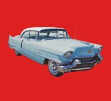 1956 Sedan Deville Cadillac Luxury Car One Piece - Long Sleeve