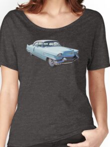 1956 Sedan Deville Cadillac Luxury Car Women's Relaxed Fit T-Shirt