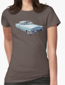 1956 Sedan Deville Cadillac Luxury Car Womens Fitted T-Shirt