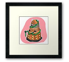 Tinsel Dalek Framed Print