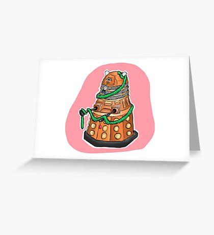 Tinsel Dalek Greeting Card